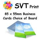Printed Quality Business Cards in Full Colour Choice of Boards Help With Artwork