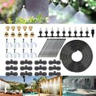 commercial patio misters - NEW Garden Patio Yard Water Mister Air Misting Cooling System Sprinkler Kits OY