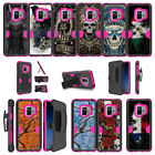 For Samsung Galaxy S9 G960 (2018) Protective Clip Stand Pink Case - Tough Art