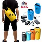 Waterproof Drift Dry Bag Canoe Rafting Kayaking Floating Boating Backpack 10 20L