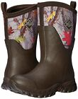 Muck Women's Mid Snow Boot, Brown/Hot Leaf Camo, AS2M-HTLF-HTL