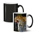 Leopard Photo Wild Animal NEW Colour Changing Tea Coffee Mug 11 oz | Wellcoda