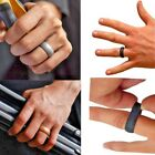Silicone Wedding Ring Band 7 Pack Active Crossfit Fitness Sizes 7-13 Rubber Work