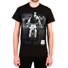 Authentic THE WALKING DEAD Daryl Leading Walker Black T-Shirt S-3XL New image