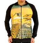 Dali Melting Soft Watch Memory Sweater Shirt Track Jacket Top Men Fine Art Print