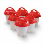 Egglettes Egg Cooker Hard Boiled Egg Separator No-Shell 6 Egg Cups As Seen On TV