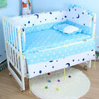 1 Sets/5Pcs Baby Bedding Sets Cotton Baby Bedclothes Cartoon Crib Bedding Set
