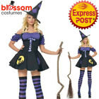 CA602 Leg Avenue Magic Spell Witch Horror Ladies Halloween Fancy Dress Costume