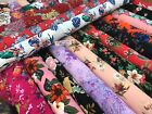 premium quality crepe dechine soft drapy fabric dress making material 140cm wide