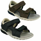 BOYS CLARKS OPEN TOE SANDAL ROCCO WAVE