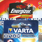 Genuine Varta & Energizer V625U 625A LR9 PX625A L1560 Car Key Alkaline Batteries
