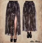 NEW SPIN DOCTOR DR LONG ALTAIRA SKIRT XL 2X 3X 4X Goth Witch Occult Raven Gypsy