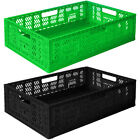 PLASTIC PRODUCE CRATES (PACK OF 5)