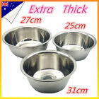 Stainless steel Polished Mixing Bowl Set Basin Salad Baking Stackable Mixer