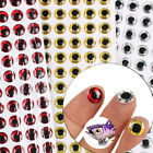 100pcs Fish Eye 7-12mm 3D Holographic Lure Fish Eyes Fly Tying Jigs Crafts Hot