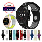 Replacement 20mm 22mm Soft Silicone Sport Watch Band Strap for Fossil Q Watch