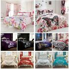 Bedding Duvet Cover With Pillow Case Quilt Cover Set Single Double King All Size