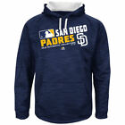 SAN DIEGO PADRES MAJESTIC AUTHENTIC THERMA BASE HOODY  NEW  MENS  XLT 5X OR 6X