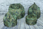 Camouflage Bean Bags Three Designs Polyester Water Resistant Camouflage BeanBags