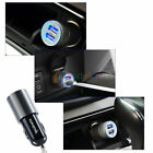 5 Pcs -MD08 2.1A Mini Dual Port USB Car Charger Adapter For Cell Phone Moto /LG