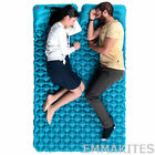 Portable Ultralight Double Sleeping Pad with Pillows Quick-Inflating for Camping