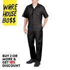 DICKIES # 33999 MENS COVERALLS SHORT SLEEVE MECHANICS UNIFORM JUMPSUIT WORK-WEAR <br/> *BUY 2 OR MORE &amp; GET 10% DISCOUNT* BUY WITH CONFIDENCE