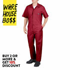 DICKIES # 33999 MENS COVERALLS SHORT SLEEVE MECHANICS UNIFORM JUMPSUIT WORK-WEAR <br/> *BUY 2 OR MORE & GET 10% DISCOUNT* BUY WITH CONFIDENCE