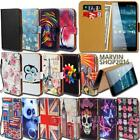 Leather Wallet Card Stand Flip Case Cover For Various Acer Liquid Phones