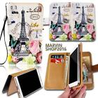New Leather Wallet Card Stand Flip Case Cover For Various SmartPhones