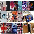 Leather Wallet Card Stand Flip Case Cover For Lenovo S Series SmartPhones