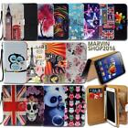 Leather Wallet Card Stand Flip Case Cover For Lenovo Vibe SmartPhones