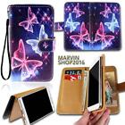 Leather Wallet Card Stand Flip Case Cover For Various Lenovo A Series Phones