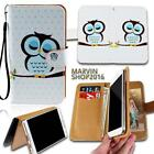 Leather Wallet Card Stand Flip Case Cover For Samsung Galaxy SmartPhones