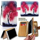 Leather Wallet Card Stand Flip Case Cover For Various LG G3 G4 G5 G6 Phones
