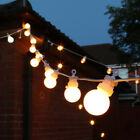 8-40m Plug In Outdoor Connectable LED Festoon String Lights | Globe Bulb Party
