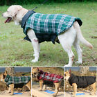 Small to Extra Large Dog Waterproof Warm 2in1 Coat Jacket Clothes Reversible UK