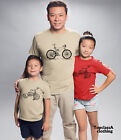 Big Bicycle and Little Bicycle Father Dad Son Daddy Daughter Family Matching T s