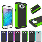 For Samsung Galaxy J7 Neo Rugged Hybrid Hard Armor Case Shockproof Phone Cover