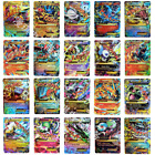 100 Stück Pokemon TCG GX/EX Karte Alle Holo Flash FULL ART Trainer Trading Cards