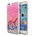 Unicorn Glitter Design Phone Hard Case Cover Skin For Various Mobiles 09