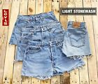 WOMENS VINTAGE LEVIS SHORTS DENIM LEVI HOTPANT HIGH WAISTED SIZE 6 8 10 12 14 16 <br/> GRADE 'A' - ALL LABELS AND TABS IN PLACE - FAST POSTAGE