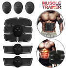 EMS Abdominal Muscle Trainer Gear Smart ABS Home Exercise Body Building Fitness image