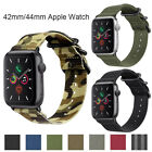 Nylon Canvas Band Bracelet For Apple Watch 5 4 3 2 1 iWatch Strap 42/44mm image