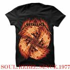 METALLICA SKULL FIRE  PUNK ROCK ALTERNATIVE T SHIRT image