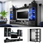 Furniture Living Room Tv Unit Cabinet Wall Shelf Coffee Table Sideboard Wardrobe