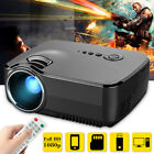 GP70 LCD Portable LED Projector 1080P Full HD 1200 Lumens HDMI USB VGA TV Port