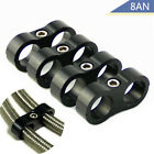 6AN 8AN 10AN Braided Hose Separator Clamp Fitting Adapter for Oil Fuel Hose Line