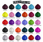 Crazy Color Semi Permanent Hair Dye 100 ml - All Colours - Cream By Renbow