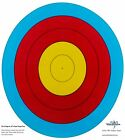 SAS High Quality 5-Ring Paper Target Face Archery Range Approx. 60 cm / 24 in.