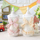 Flower Lace Dog Slip Dress Clothing For Dogs Pet Yorkshire Teddy Cat Dog Clothes